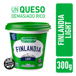 Queso Untable Finlandia Light Pote 300 g