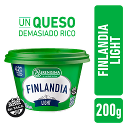 Queso Untable Finlandia Light Pote 200 g