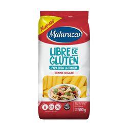Pasta Matarazzo Penne Rigate Libre De Gluten 500 G