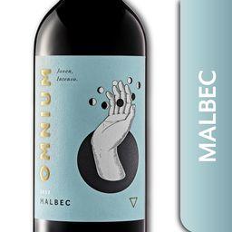 Vino Tinto Malbec Omnium 750 Ml