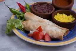 Lista Naranja - 2 Burritos a Elección + Guarnición