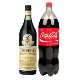 Fernet 750 ml & Coca-Cola 2.25 l