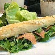 Baguette de Salmón