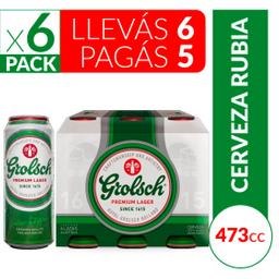 Grolsch Cerveza Golsch X 6