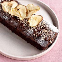 Budin de Chocolate y Pera