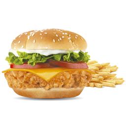 Súper Crunch Sándwich & Papas