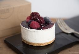 Minicake de Cheesecake Frutos Rojos