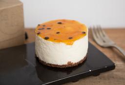 Minicake de Cheesecake Maracuyá