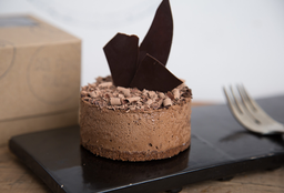 Minicake de Mousse de Chocolate