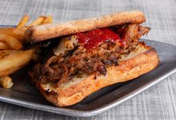 Sándwich de Bondiola Desmechada