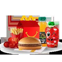 Cajita Feliz Hamburguesa - Más Rica y Nutritiva