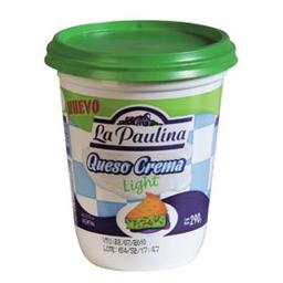 Combo 2U Queso Crema Light La Paulina 290 Gr