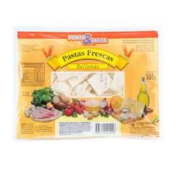 Ravioles Punto&Pasta Pollo Y Espinaca 500 Gr