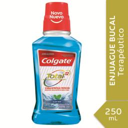 Combo 2U Enjuague Bucal Colgate Total 12 Clean Mint 250Ml