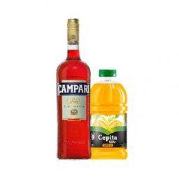 Combo Campari y Jugo de Naranja