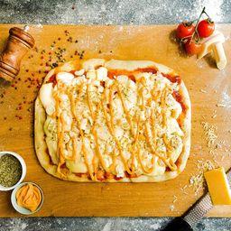Pizza Rústica Palmitos con Salsa Golf