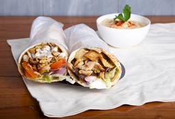 Combo 3 shawarma de pollo + gaseosa 1.5 L