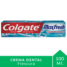 Colgate Crema Dental Max Fresh Cool Mint
