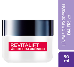 Crema Día L´Oréal Paris Revitalift Acido Hialulronico X 50Ml