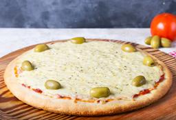 Pizza mozzarella y pizza napolitana