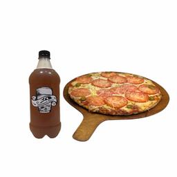 Pizza Muzzarella & Cerveza