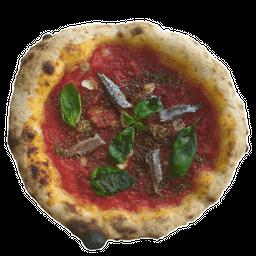 Pizza Marinara con Anchoas