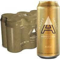Sixpack Andes Rubia 473 ml