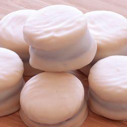 Alfajorcitos de Chocolate Blanco