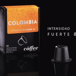 Cápsulas Colombia Fuerte X 10