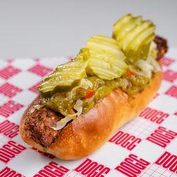 Hot Dog Falafel Chucrut