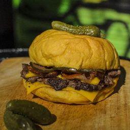 Hamburguesa Pickle Rick