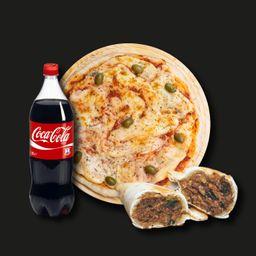 Combo Pizza & Empanadas