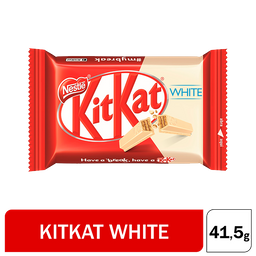 Kit Kat Oblea Rellena White