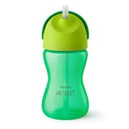 Vaso Con Pajita Flexible Avent Straw Cup Para Nene X 300 Ml
