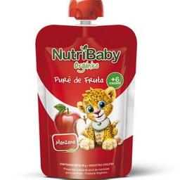 Papilla Infantil Nutribaby Orgánico Sabor Manzana X 90 Gr