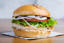 Hamburguesa Chicken Sándwich