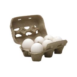 Huevo Blanco Avicola Espil Carton X 6 Uni.