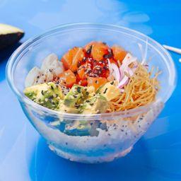 Sushi Salad Salmango