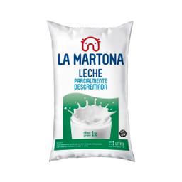 Leche Descremada En Sachet La Martona 1 Lt