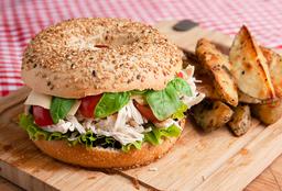 Sándwich de Pollo Capresse