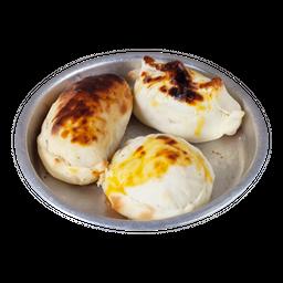 Mediodía Rappi- 3 Empanadas de Pollo + Muffin + Bebida