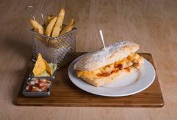 Sándwich de Fajita Chicken