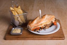 Sándwich Cheese Steak