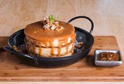 Pancakes DDL & Nuez + Infusión