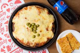 Pizza Mozza & Bebida