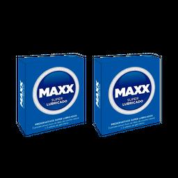 Combo 2U Preservativos Maxx Super Lubricado X3