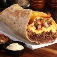 Combo Burrito Texano Cheddar y Coca-cola