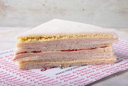 3 Sándwiches de Miga  Surtidos Pan Blanco o Negro