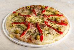 Pizza con Jamón & Morrón