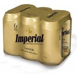 Sixpack Cerveza Imperial Lata